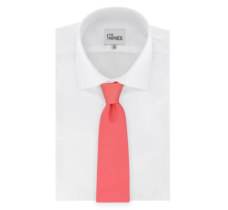 Cravate corail milan ii la maison de la cravate - La maison de la cravate ...