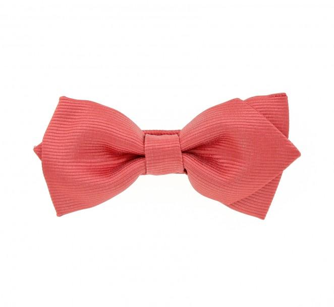 nœud papillon corail tilbury ii la maison de la cravate