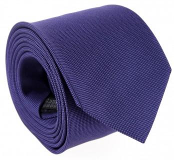 Cravate violette The Nines en soie nattée - Baltimore III