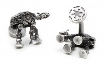 Boutons de manchette Star Wars: AT-AT Walker Palladium