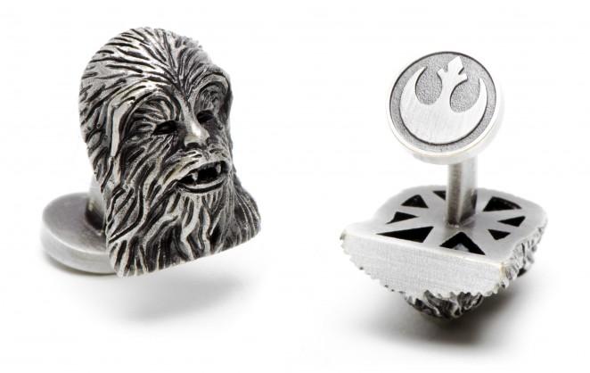 Boutons de manchette Star Wars: Chewbacca Palladium