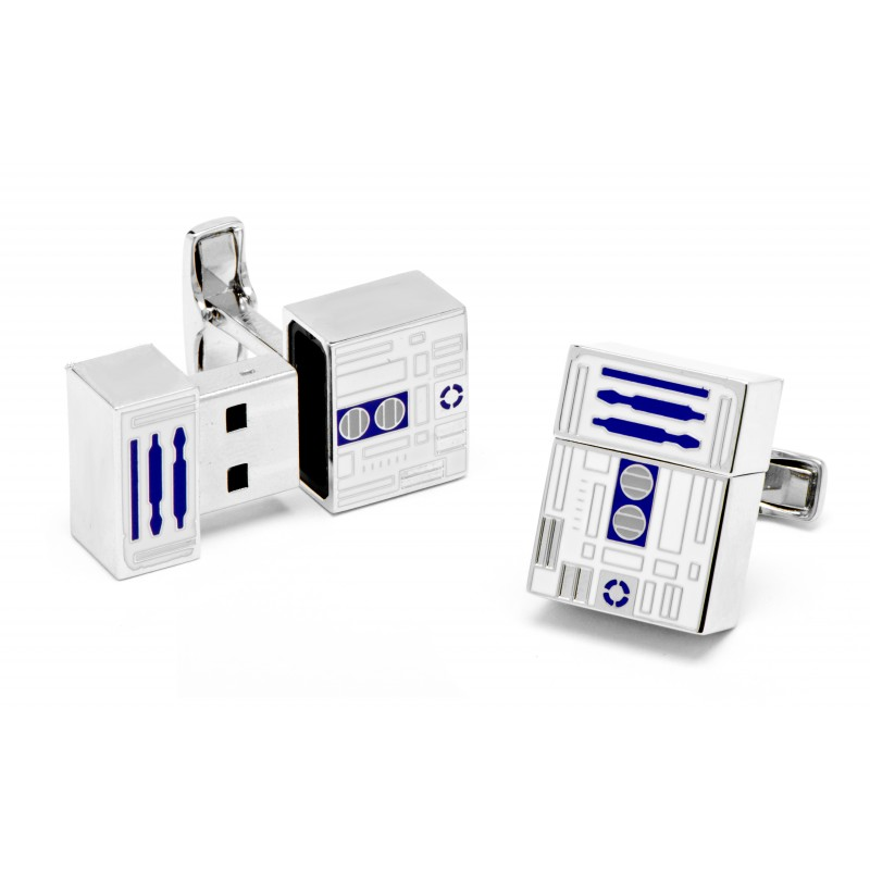 star wars cl usb r2d2 la maison du bouton de manchette. Black Bedroom Furniture Sets. Home Design Ideas