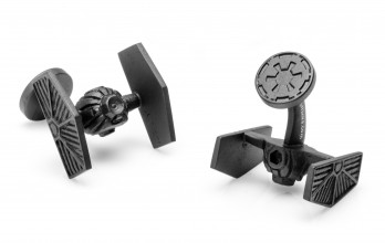 Boutons de manchette Star Wars: Starfighter Black