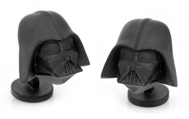 star wars dark vador noir mat la maison du bouton de manchette. Black Bedroom Furniture Sets. Home Design Ideas