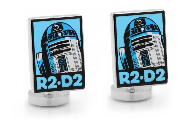 Boutons de manchette Star Wars: R2D2 Pop Art Poster