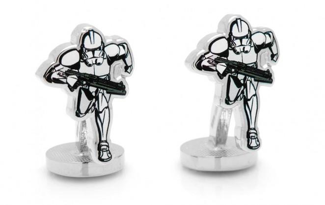 Boutons de manchette Star Wars: Stormtrooper Action