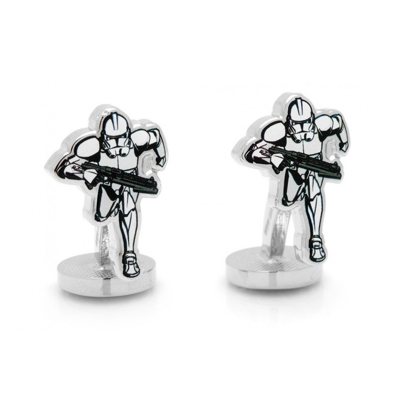 Boutons de manchette Star Wars: Stormtrooper Action