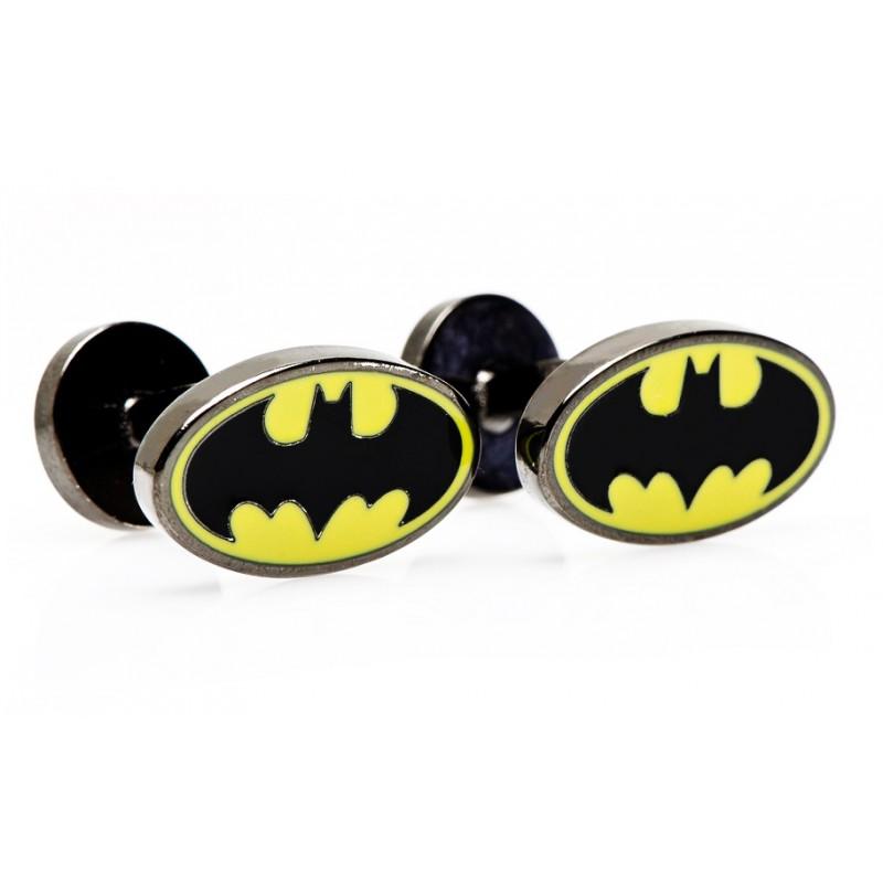 Boutons de manchette Batman : Batman Logo