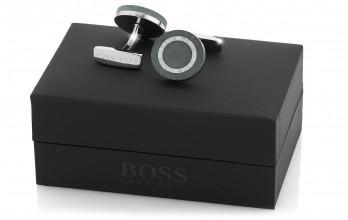 Boutons de manchette Hugo Boss - Ferdinando gris