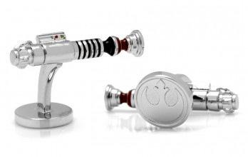 Boutons de manchette Star Wars: Luke Skywalker Lightsaber