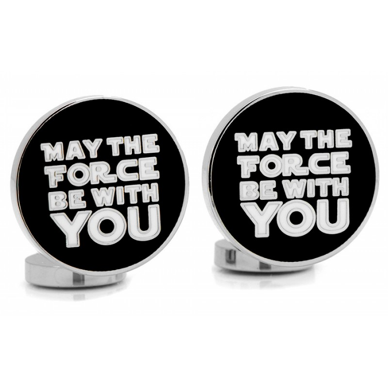 star wars may the force be with you la maison du bouton de manchette. Black Bedroom Furniture Sets. Home Design Ideas