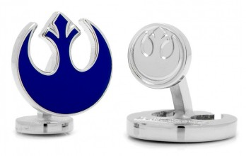 Boutons de manchette Star Wars: Blue Rebel Symbol