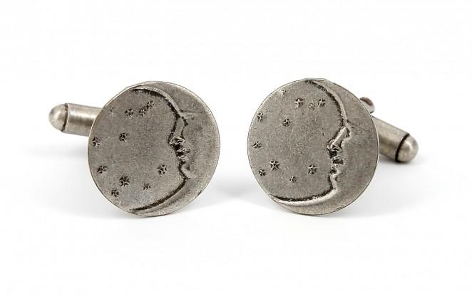 Boutons de manchette Géraldine Valluet - Lune