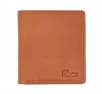 Portefeuille en cuir cognac format compact - FCO