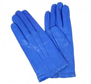 Gants bleus en cuir - SAY