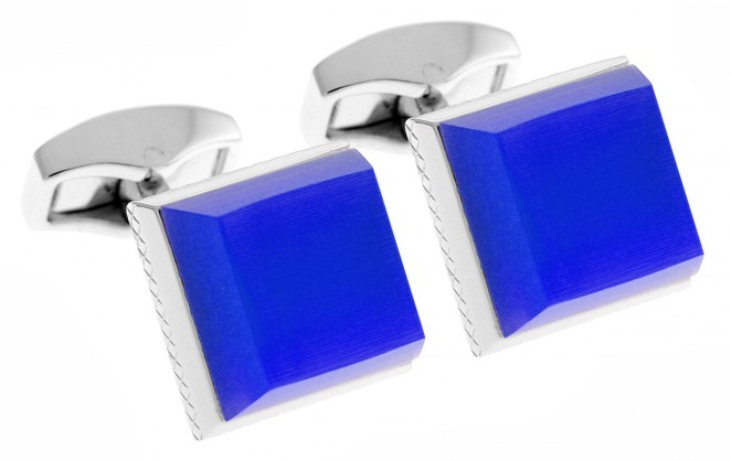 Boutons de manchette Tateossian - Keyboard bleu