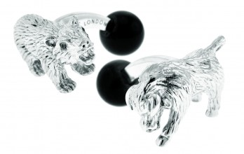 Boutons de manchette Tateossian - Animals Bull and Bear