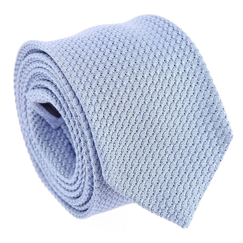 Cravate grenadine de soie bleu ciel The Nines - Grenadines III