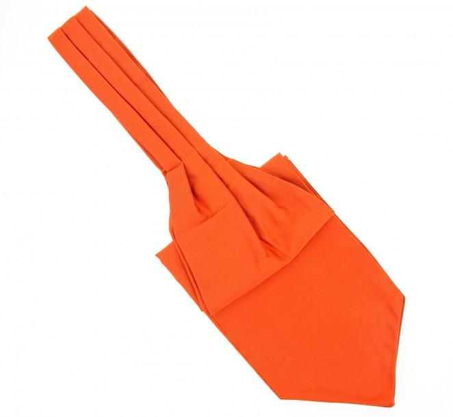 Ascot lavalli re orange vitamine la maison de la cravate - La maison de la cravate ...
