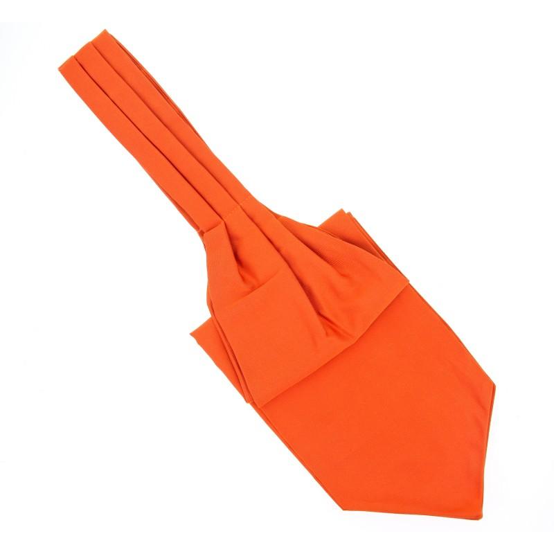 ascot lavalli re orange vitamine la maison de la cravate. Black Bedroom Furniture Sets. Home Design Ideas