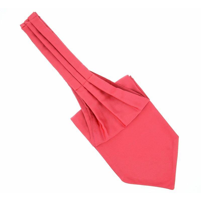 Ascot lavalli re rose corail la maison de la cravate - La maison de la cravate ...