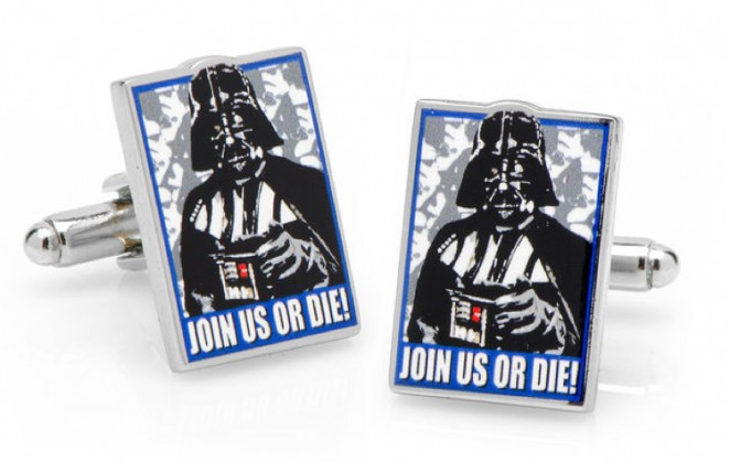 Boutons de manchette Star Wars: Join us or Die propaganda poster