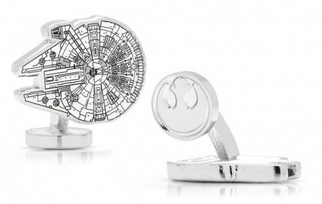 Boutons de manchette Star Wars: Millenium Falcon