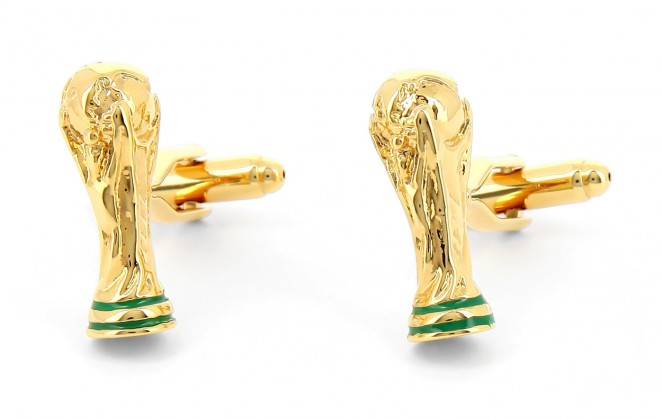 Boutons de manchette football - World Cup