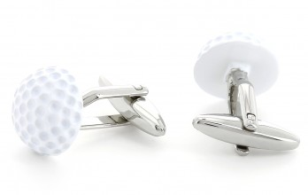 Boutons de manchette golf - Pebble Beach
