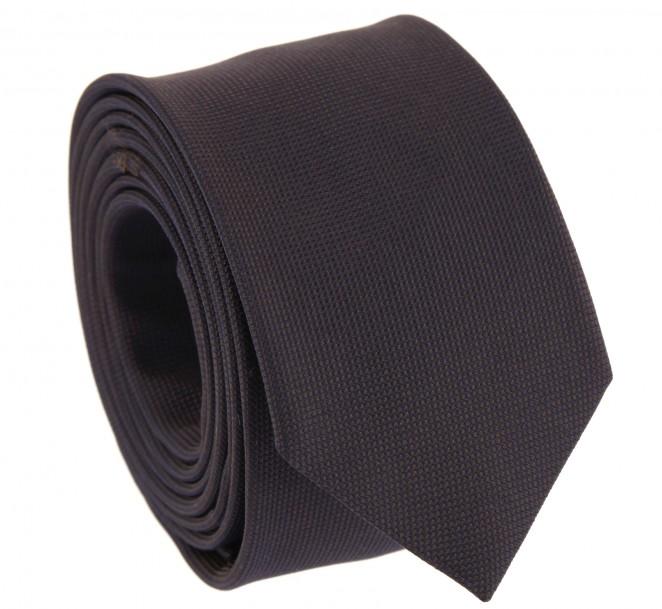 Cravate prune the nines en soie natt e la maison de la - La maison de la cravate ...
