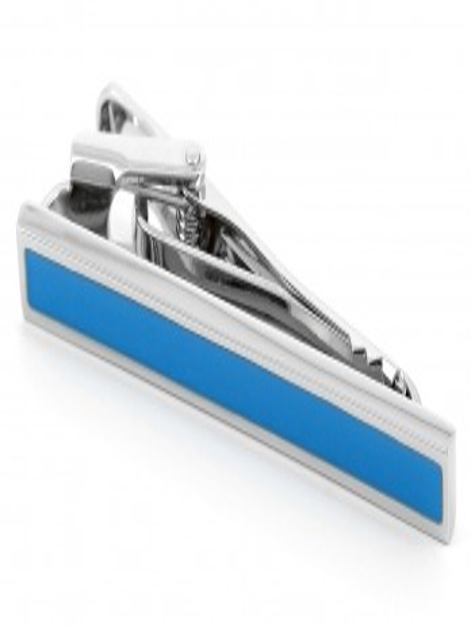 Pince à cravate - San Diego Bleu Electrique