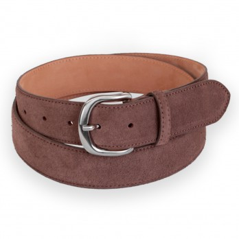 CEINTURE MORGAN CAFE SUEDE