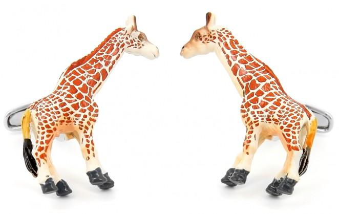 Boutons de manchette Sophie la girafe