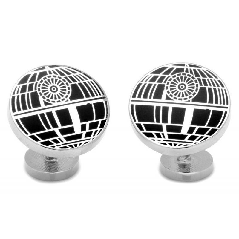 star wars etoile de la mort black la maison du bouton de manchette. Black Bedroom Furniture Sets. Home Design Ideas