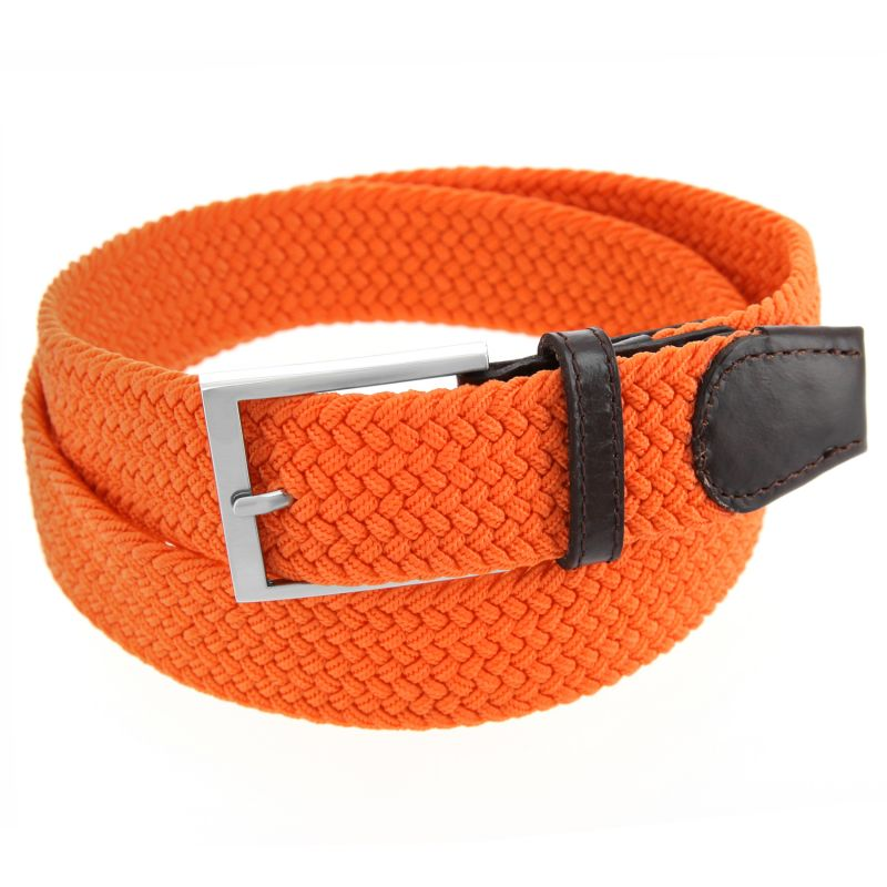 ceinture lastique orange rob ii atelier de la ceinture. Black Bedroom Furniture Sets. Home Design Ideas