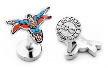 Boutons de manchette Superman : Superman Action