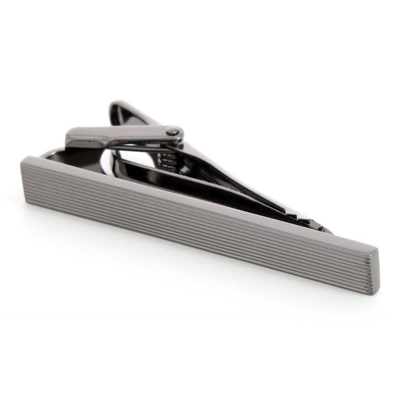 pince cravate seattle gunmetal la maison du bouton de manchette. Black Bedroom Furniture Sets. Home Design Ideas