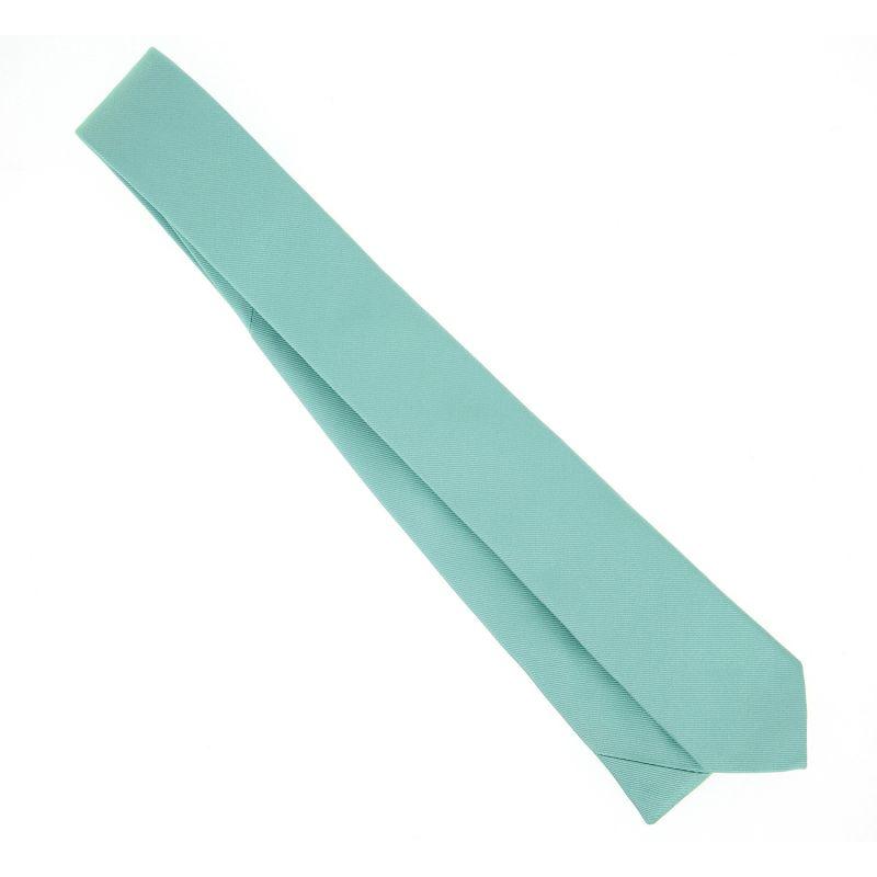 Cravate slim vert d 39 eau sienne la maison de la cravate - La maison de la cravate ...