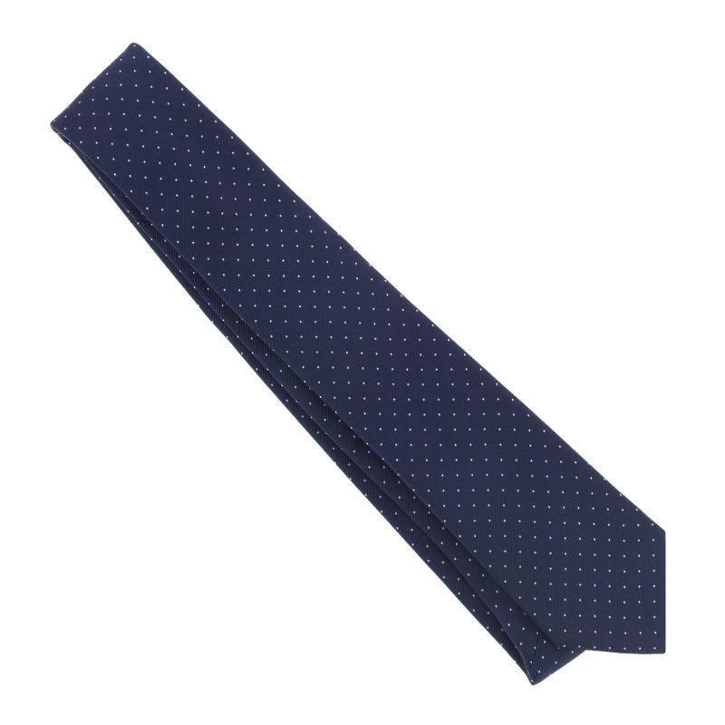 Cravate Marine Pois Bleu Ciel Cravates Maison De La
