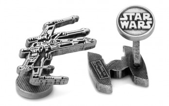 Boutons de manchette Star Wars: X-Wing & Tie Fighter