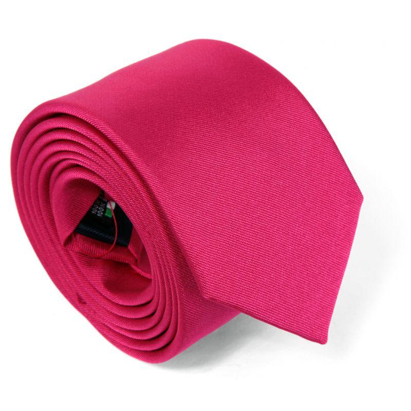 8edeed413bbd Cravate fuchsia rose - Milan II - Cravates - Maison de La Cravate