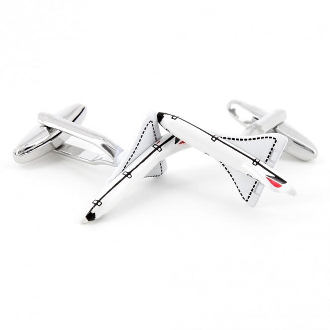 Boutons de manchette avion - Concorde