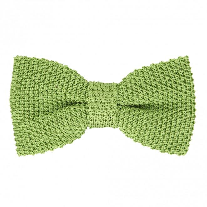 noeud papillon vert anis en tricot de soie monza ii. Black Bedroom Furniture Sets. Home Design Ideas