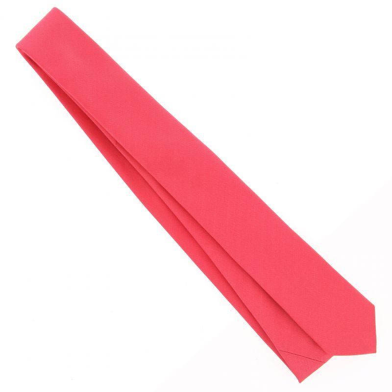 Cravate slim rose corail sienne la maison de la cravate - La maison de la cravate ...