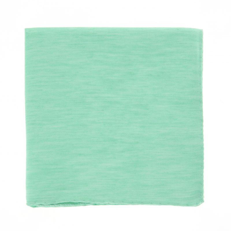Pochette vert anis en lin la maison de la cravate - La maison de la cravate ...