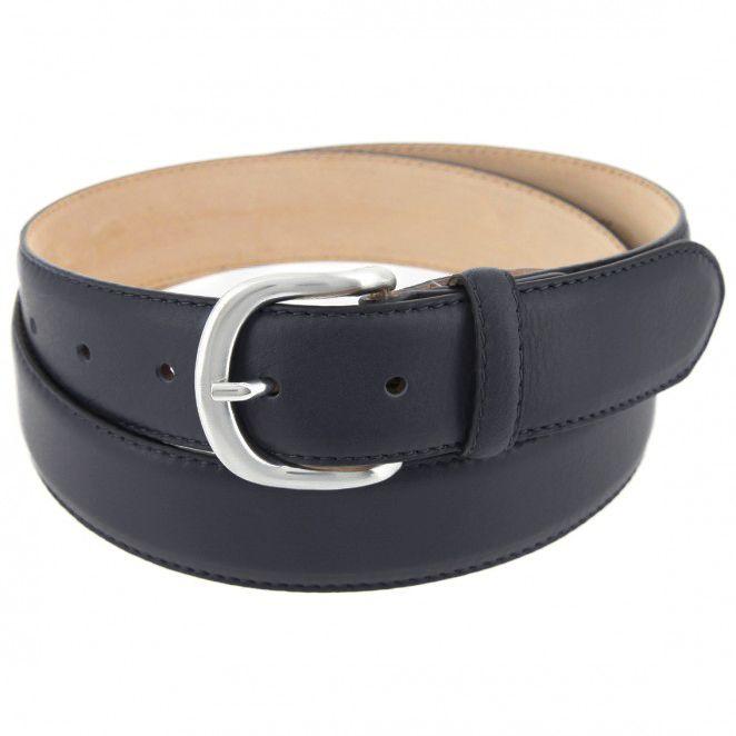 ceinture bleu marine en cuir morgan atelier de la ceinture. Black Bedroom Furniture Sets. Home Design Ideas