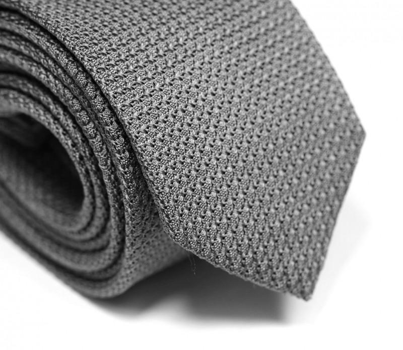 Cravate grenadine de soie grise - Grenadines III