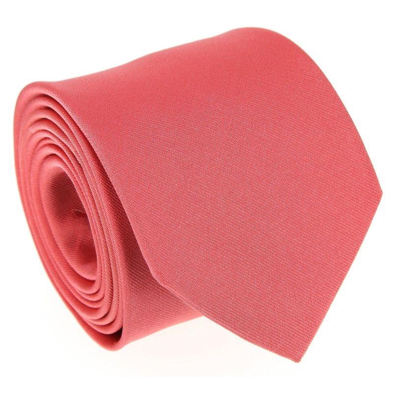 ba232343088c Cravate corail - Milan II - La Maison de la Cravate