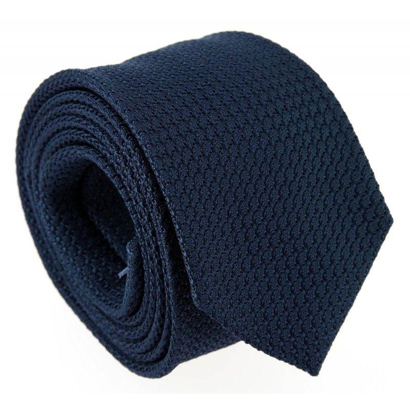 Cravate grenadine de soie bleu nuit The Nines - Grenadines III