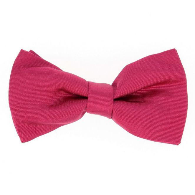 Noeud papillon fuchsia rose tilbury la maison de la - La maison de la cravate ...